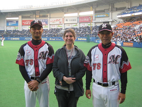 Kenji Morozumi, Deanna Rubin, Norifumi Nishimura